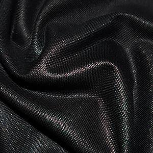 Black Cotton Canvas Fabric 0.5m