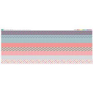 Fruit Punch Fabric Strips Panel 140 x 57cm