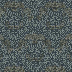 William Morris Mineral Blue Sunflower Fabric 0.5m