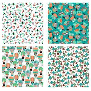Owl's Woodland Adventure Fabric Bundle (2m)