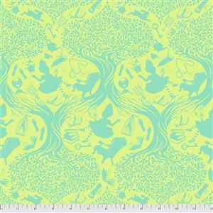 Tula Pink Curiouser And Curiouser in Down the Rabbit Hole Bewilder Fabric 0.5m