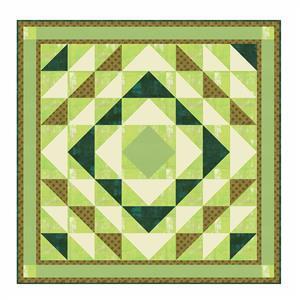 Greenery Quilt Kit 147 x 147cm