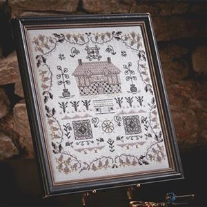 The Cross Stitch Guild Blackwork House