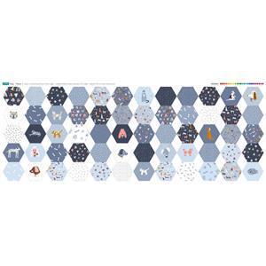 Dog Design Hexi's Panel (140 x 59cm)
