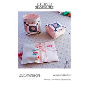Flourish Sewing Set by Lou Orth - Paper Pattern