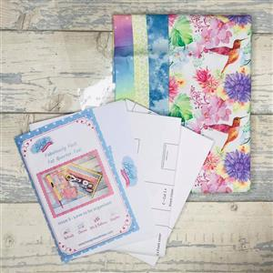 Living in Loveliness Fabulously Fast Fat Quarter Fun Issue 6 - Love to be Organised - Hummingbird