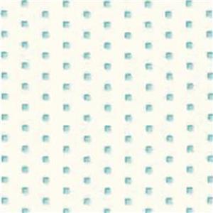 Moda Homestead Blue Small Squares on White Fabric 0.5m