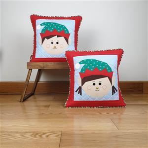 Victoria Peat's Christmas Elves FPP Duo Cushion Kit