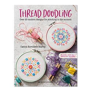 Thread Doodling Book by Carina Envoldsen-Harris