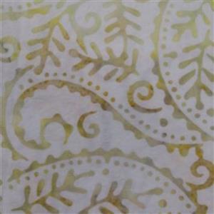Stamped Paisley Batiks Rustic Fabric 0.5m