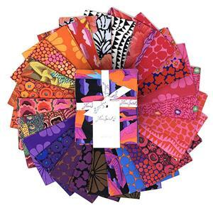 Kaffe Fassett Collective Hot FQ Pack of 25 Pieces