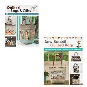 Sew Beautiful Quilted Bags & Quilted Bags and Gifts Book Bundle. Save Over 10%