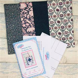 Living in Loveliness Fabulously Fast Fat Quarter Fun Issue 12 Sew Essential Liberty Summer House