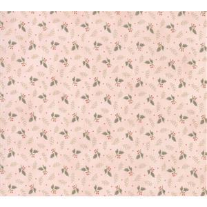 Moda Daybreak Falling Leaves on Blush Fabric 0.5m