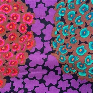 Kaffe Fassett Collective Hydrangea in Purple Fabric 0.5m
