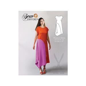 Sew Different Flounce Dress Pattern - Sizes 8-26