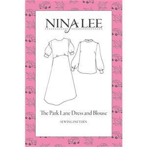Nina Lee Park Lane Printed Sewing Pattern Sizes 6-20