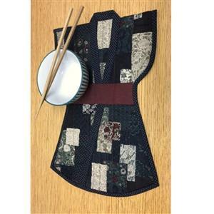 Village Fabrics Kimono Placemats Pattern