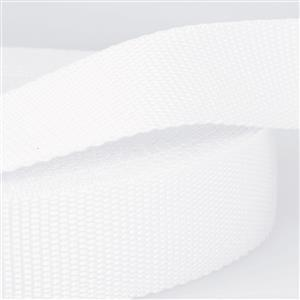White Polypropylene Webbing 1.5m