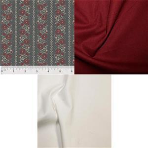 Steel School House & Ivy Quilt Fabric Bundle (1.5m)