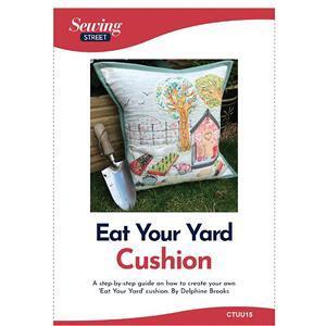 Delphine Brooks' Eat your Yard Cushion Instructions