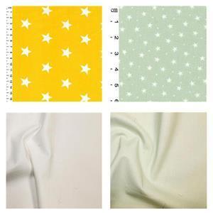Yellow & Pistachio FQ Pack (4pcs)