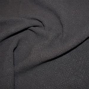 Dark Grey 100% Stone Washed Linen 0.5m