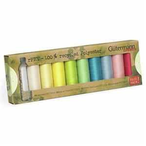 Sew All Recycled Thread Set 10 x 100m Brights
