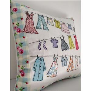 Helen Newton's Washing Line Cushion Instructions