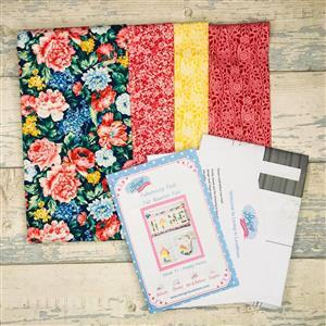 Fabulously Fast Fat Quarter Fun Issue 11 Happy Home - Liberty Coral