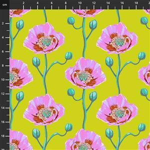 Anna Maria Horner Bright Eyes in Cheering Section Sunny Fabric 0.5m