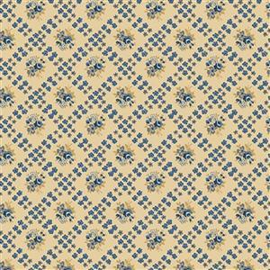 Riley Blake Delightful Daffodil Cross Gold Fabric 0.5m