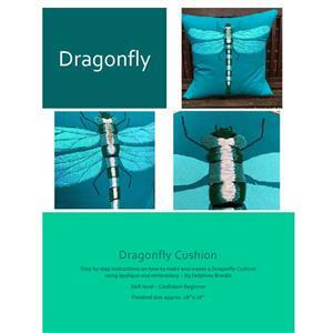 Delphine Brooks Dragonfly Cushion Instructions