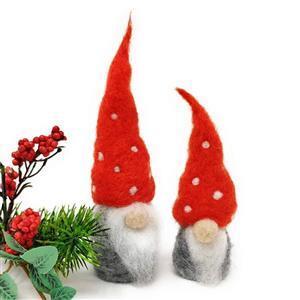The Crafty Kit Company Nordic Gnomes Needle Felting Kit