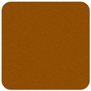 """Felt Square in Amber 22.8x22.8cm (9x9"""")"""