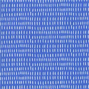 Moda Back Porch White Dashes on Blue Fabric 0.5m