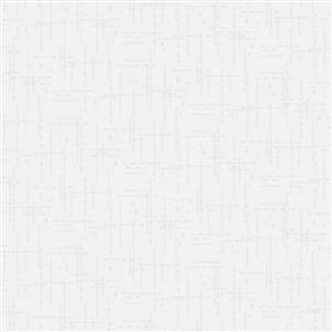 Stitched Effect Cream Fabric 0.5m