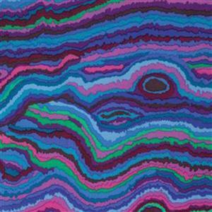 Kaffe Fassett Classics Equator Bright Electric Oil Spill Fabric 0.5m