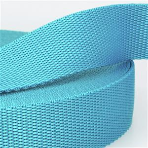 Turquoise Blue Polypropylene Webbing 1.5m x 25mm