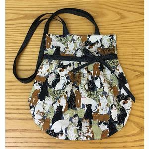 Village Fabrics Cats Sandra Bag Kit