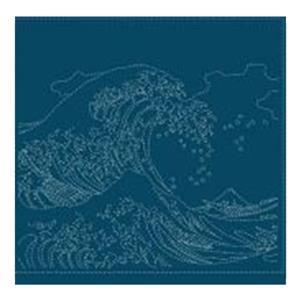 Hana-fukin Birds Ukiyoe Navy Fabric Pack