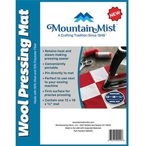 "Mountain Mist Wool Pressing Mat 30 x 45cm (12x18"")"