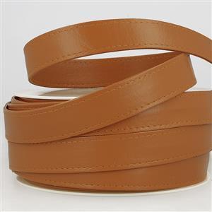 Faux Leather Webbing Camel 25mm (1m)