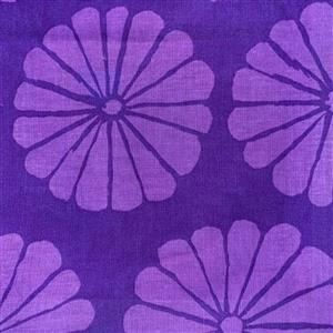 Kaffe Fassett Collective Damask Flower in Purple 0.5m