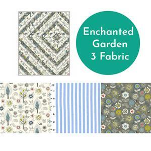 Garden Path Quilt Kit - Pattern & Fabric (3.5m)