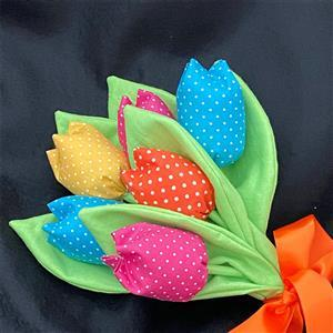 Allison Maryon's Fabric Tulips Instructions and Templates