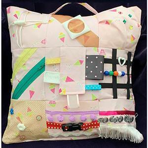 Allison Maryon's Pink Fidget Cushion Kit