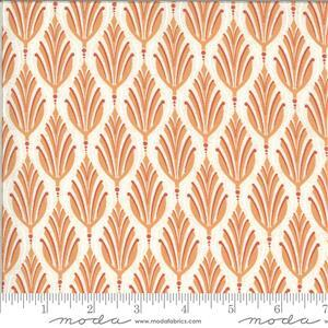Moda Cider Orange Apple Leaf Fabric 0.5m