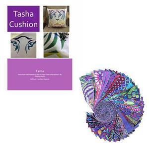 Delphine Brooks' Kaffe Tiger Cushion Bundle: Instructions & Design Roll