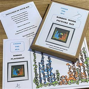 Allison Maryon's Under the Sea Ribbon Work Kit